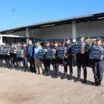 Entregan equipo policial en Pénjamo