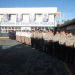 Se gradúan 63 policías y tránsitos municipales