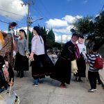Desfile por la conmemoración de la Defensa Heroica y fundación de Pueblo Nuevo
