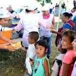 DIF Estatal atiende a los habitantes de la comunidad de Santa Ana Pacueco