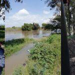 Refuerzan cauce del Río Lerma en Estancia del Refugio