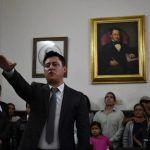 Adolfo Alfaro rinde protesta como alcalde de Manuel Doblado