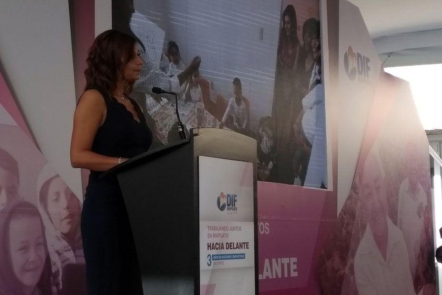 Photo of Rinde Isabel Ortiz acciones del DIF municipal