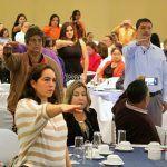 Rinden protesta Consejos Escolares de Participación Social de la región suroeste