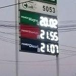 ¡En los 20.02 pesos el litro de gasolina magna en Irapuato!