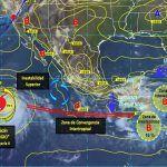 Para la entidad se prevé probabilidad de lluvias dispersas, con mañana y noche frescas