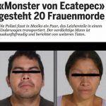 La noticia de los multiasesinos de Ecatepec recorre el mundo