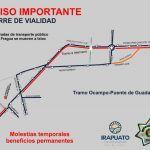 ¡Toma precauciones! Habrá cierre del bulevar Díaz Ordaz este lunes