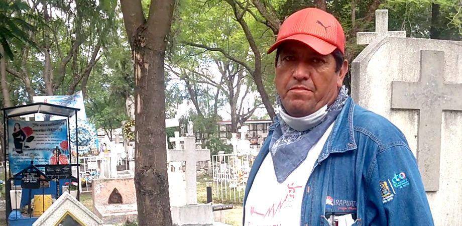 Photo of Lamentos y personas que desaparecen, experiencias de trabajador en Panteón Municipal
