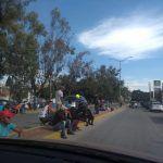 Cientos de migrantes permanecen en Irapuato