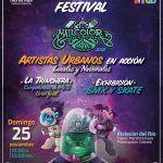 200 artistas urbanos enchulan el Malecón del Río