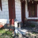 Estación de tren en Corralejo en el olvido