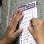 Resultados de la segunda consulta ciudadana