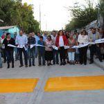 Pavimentan calles Aldama y Morelos en La Noria de Barajas