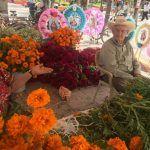 La venta de flor de cempasúchil no es un negocio, es una tradición