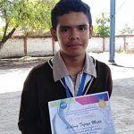 Anthony de 14 años, un talento penjamense de la robótica; su primer logro fue aprender a leer y escribir a los 4 años