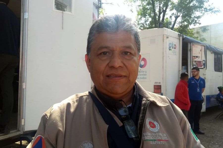 director de Protección Civil de Irapuato