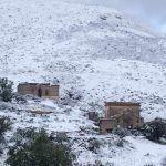 Después de dos años regresa la nieve a Guanajuato