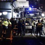 Tráiler accidentado en la México-Toluca iba a más de 100 km/h y servían sus frenos