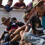 Más de 3 mil migrantes piden refugio al gobierno mexicano