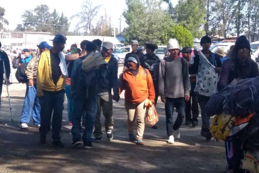 migrantes en Irapuato
