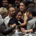 ¡Asesinaron a mi hija!: diputada de Morena recibe noticia durante sesión en San Lázaro