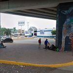 Reemplazarán murales del puente Siglo XXI