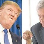 Donald Trump dice que México pagara el muro, AMLO lo contradice