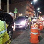 Aseguran 13 vehículos en operativo de alcoholimetría