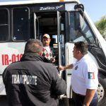 Sancionan a más de 480 operadores del transporte público