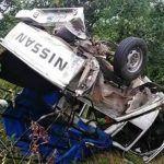 ¿Milagro de la Virgen? Camioneta que llevaba a 19 peregrinos volcó; No hay heridos