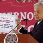 AMLO devuelve 22, 313. 29 pesos de su primera quincena como presidente