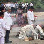'Le llegó la hora al sureste': López Obrador al iniciar obras del Tren Maya