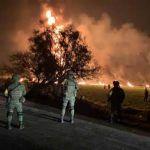 Explota ducto en Hidalgo mientras pobladores lo ordeñaban