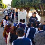 participan activamente niñas, niños y jóvenes en la semana de la lectura