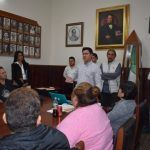 Presenta Adolfo Alfaro proyecto a comerciantes de zona centro