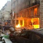 Explosión en panadería de Paris deja tres muertos