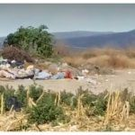 Cuerpos abandonados en basurero