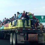 Otra caravana de migrantes Hondureños viene a México