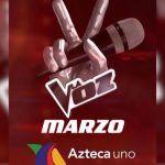 La voz México ahora por TV Azteca