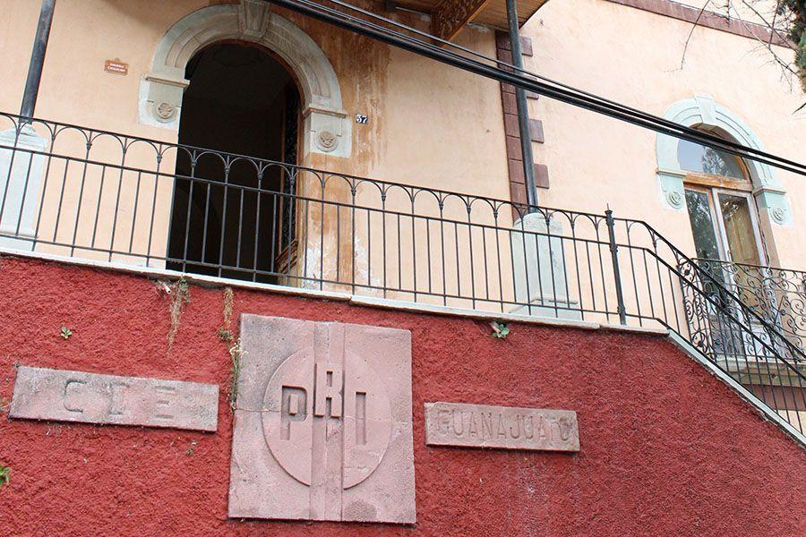 Oficinas del PRI en Guanajuato