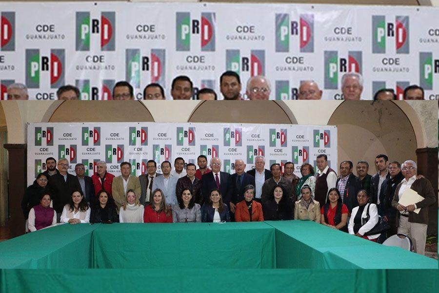 priistas de Guanajuato