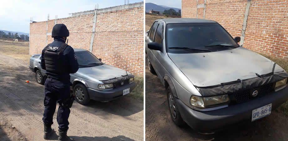Photo of Recupera Seguridad Ciudadana vehículo robado