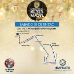 Ruta de Cabalgata de Reyes Magos en Irapuato