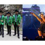 Los Tucanes de Tijuana y Ariana Grande en un mismo escenario