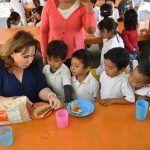Entrega DIF Suplemento Alimenticio en Comedores Comunitarios