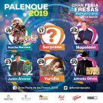 Yuridia, Pancho Barraza, Napoleón y Julión Álvarez… cantantes en el Palenque Irapuato 2019