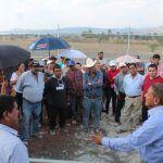 Agua potable para San Bernardo, la obra muestra un avance del 85%