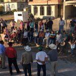 Visita alcalde a habitantes de Lomita de Aceves