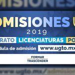Inicia expedición de cédulas de admisión para nuevo ingreso 2019 en UG